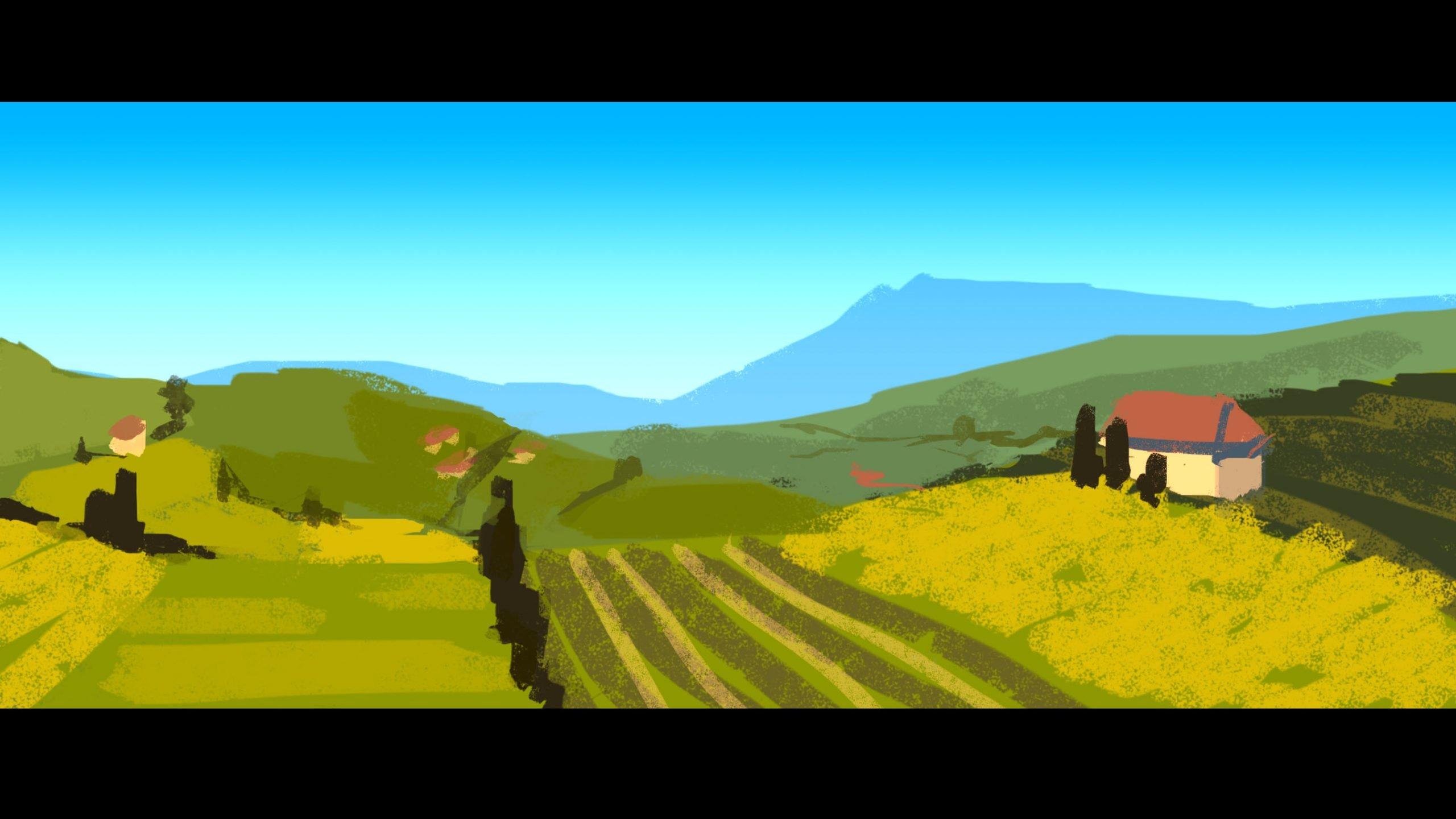 Franglais – Colour Keys